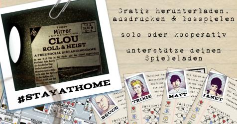 Release des gratis print&play Spiels für Zuhause, mit dem Ihr auch euren lokalen Spielehändler unterstützen könnt